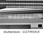 modern office building wall... | Shutterstock . vector #1117492415
