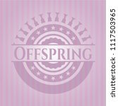 offspring retro pink emblem   Shutterstock .eps vector #1117503965