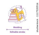 wedding concept icon....   Shutterstock .eps vector #1117520516