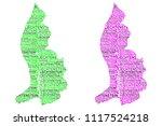 sketch liechtenstein letter... | Shutterstock .eps vector #1117524218