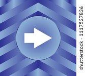 white arrow icon on blue... | Shutterstock .eps vector #1117527836