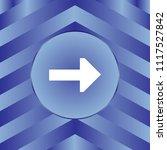 white arrow icon on blue... | Shutterstock .eps vector #1117527842