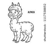 coloring book for children ... | Shutterstock .eps vector #1117538852