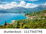 bright summer seascape of... | Shutterstock . vector #1117565798