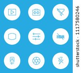 image icons line style set with ...   Shutterstock .eps vector #1117580246