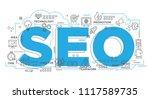 illustration of creative... | Shutterstock .eps vector #1117589735