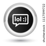 lol bubble icon isolated on... | Shutterstock . vector #1117599722