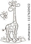 coloring page outline of...   Shutterstock .eps vector #1117620422