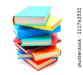 Multi Coloured Books . The...