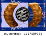 Single Litecoin Coin With Pure...