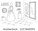 wedding boutique graphic black...   Shutterstock .eps vector #1117660592