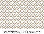 abstract geometric pattern. a... | Shutterstock .eps vector #1117676795