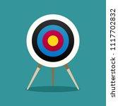 archery target  goal concept | Shutterstock .eps vector #1117702832