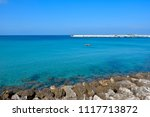 view of the beautiful coast... | Shutterstock . vector #1117713872