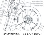 cover  flyer  banner. vector... | Shutterstock .eps vector #1117741592