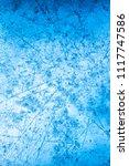 textured ice blue frozen rink... | Shutterstock . vector #1117747586