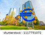 frankfurt am main  germany  ... | Shutterstock . vector #1117751072