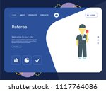 quality one page referee... | Shutterstock .eps vector #1117764086