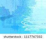 abstract painting on canvas.... | Shutterstock . vector #1117767332