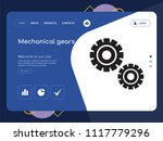 quality one page mechanical...   Shutterstock .eps vector #1117779296