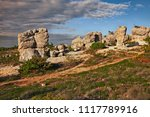forcalquier  provence  france ... | Shutterstock . vector #1117789916
