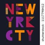 t shirt graphics  tee print... | Shutterstock .eps vector #1117798412