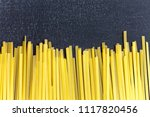 close up top view of raw...   Shutterstock . vector #1117820456