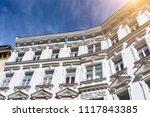apartment house in vienna...   Shutterstock . vector #1117843385