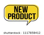 new product  speech bubble on...   Shutterstock .eps vector #1117858412