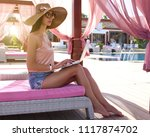 work and travel. incredibly...   Shutterstock . vector #1117874702