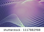 abstract polygonal space low... | Shutterstock . vector #1117882988