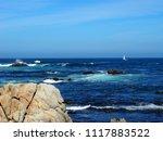 pacific grove  ca   usa  ... | Shutterstock . vector #1117883522