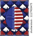 american poster independence...   Shutterstock .eps vector #1117903475