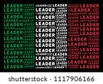 italian national flag flat... | Shutterstock .eps vector #1117906166