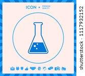 test tube symbol bubbles | Shutterstock .eps vector #1117932152