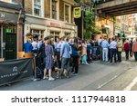 london. june 2018. a view of...   Shutterstock . vector #1117944818