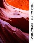 slot canyon in navajo...   Shutterstock . vector #1117951988