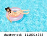 cute and funny little girl in... | Shutterstock . vector #1118016368