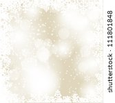 abstract beauty christmas and... | Shutterstock .eps vector #111801848