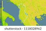 mean annual temperature... | Shutterstock . vector #1118028962