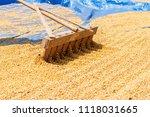 dehumidification process... | Shutterstock . vector #1118031665