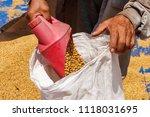 dehumidification process... | Shutterstock . vector #1118031695