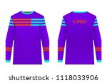 templates jersey for mountain... | Shutterstock .eps vector #1118033906