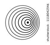 doppler effect  doppler shift    Shutterstock .eps vector #1118042546