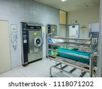 sterile processing room and... | Shutterstock . vector #1118071202