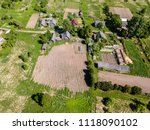beautiful aerial view of a...   Shutterstock . vector #1118090102