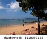 ao nang  thailand december 10...   Shutterstock . vector #1118093138