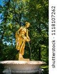 saint petersburg  russia  ... | Shutterstock . vector #1118107262