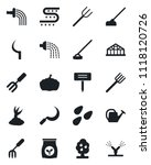 set of vector isolated black... | Shutterstock .eps vector #1118120726