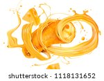 closeup look at cheese sauce... | Shutterstock .eps vector #1118131652